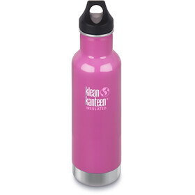 Klean Kanteen Classic Bottle Vacuum Insulated 592 ml w/ Loop Cap Meadow Flower